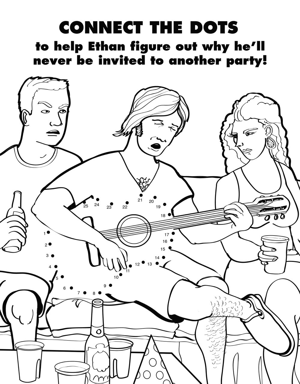 Coloring Book For Grown-Ups Ryan Hunter and Taige Jensen ...