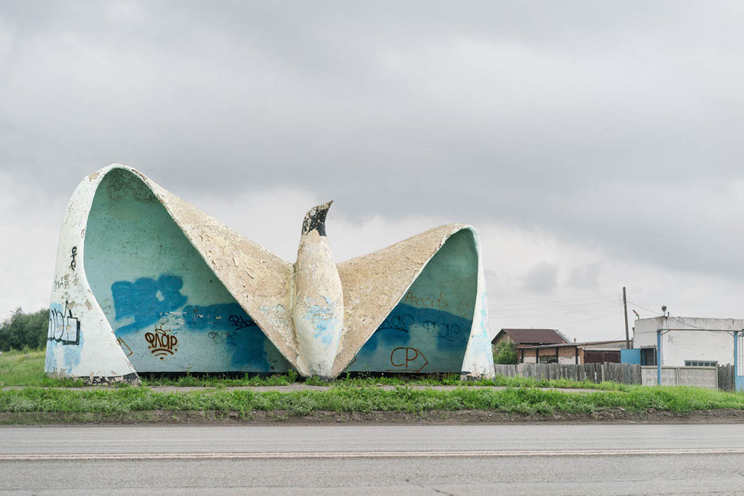 Soviet Bus Stops By Christopher Herwig Theinspiration